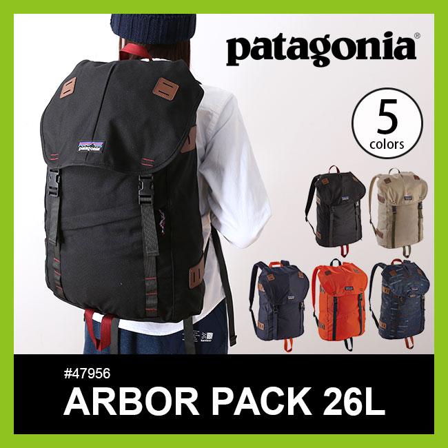 パタゴニア アーバーパック 26L patagonia Arbor Backpack 26L リュックサック バッグ バックパック #47956