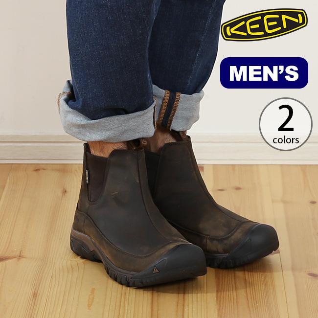 キーン アンカレッジブーツ3 ウォータープルーフ メンズ KEEN ANCHORAGE BOOT III WATERPROOF 靴 ブーツ ウィンターブーツ ショートブーツ サイドゴア アウトドア <2019 秋冬>