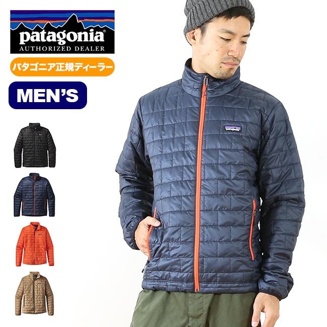 パタゴニア メンズ ナノパフジャケット patagonia nano puff jacket 【送料無料】 ジャケット アウター パフジャケット 防風 耐水 軽量 保温 防寒 スキー アルパイン パッカブル 84212 17FW