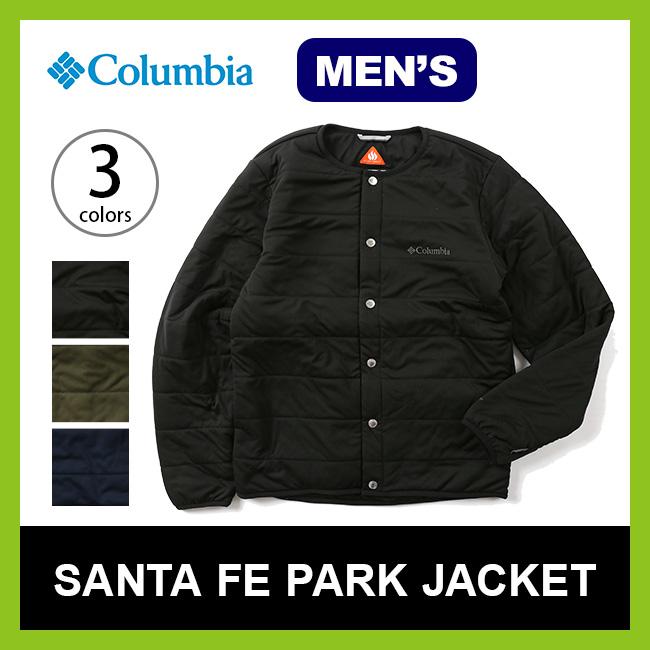 コロンビア サンタフェパークジャケット Columbia SANTAFE PARK JACKET メンズ 【送料無料】 トップス 長袖 ジャケット 上着 アウター インサレーション 中間着 17FW