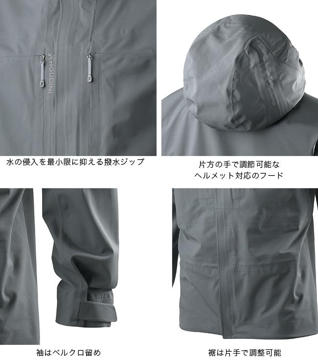 フーディニ メンズ ローラーコースタージャケット HOUDINI M's RollerCoaster Jacket メンズ  ジャケット ウィンタースポーツ 男性 フーディーニー  17FW