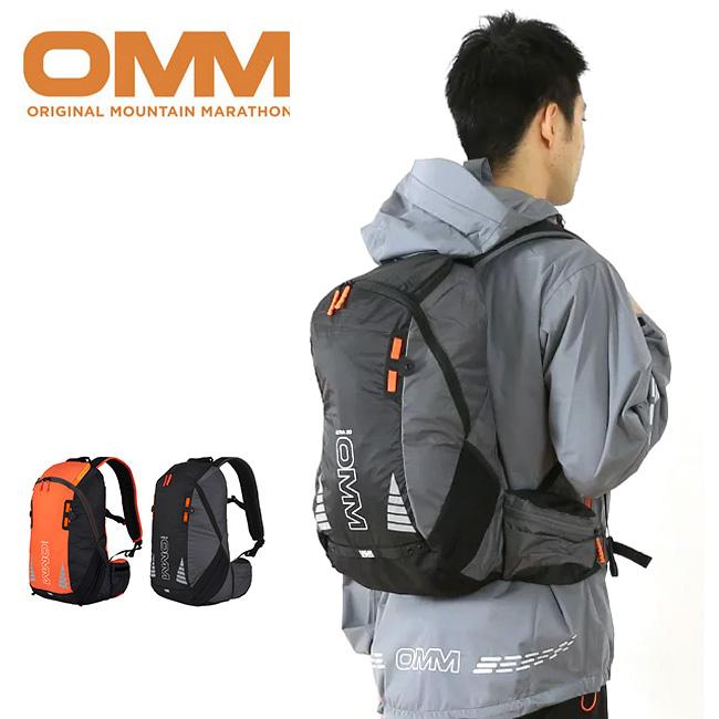 オリジナルマウンテンマラソン ウルトラ20 OMM Ultra 20 【送料無料】 マラソンパック リュック トレランパック バックパック 17FW