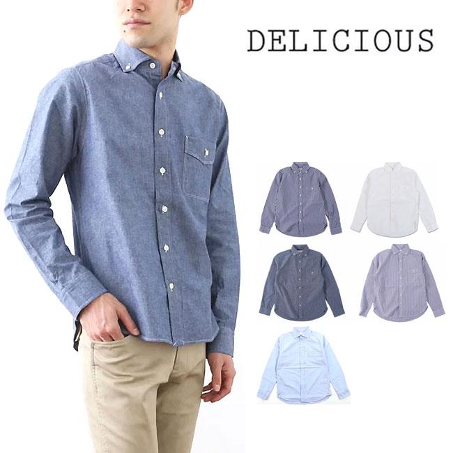 デリシャス プジョル 【送料無料】 【正規品】 シャツ 長袖 男性 メンズ Delicious Pujol