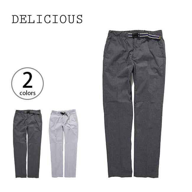 デリシャス DELICIOUS リラックスパンツ 【送料無料】 【正規品】 ロングパンツ 男性 メンズ デイリーユース RELAX PANTS