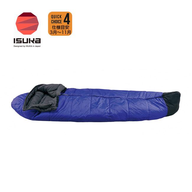 イスカ スノートレック 1300 ISUKA Snow Trek 1300 【送料無料】 シュラフ 寝袋 マミー 日本製 冬 雪山 キャンプ アウトドア <2018 春夏>