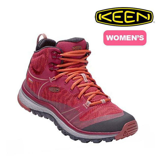 キーン KEEN テラドーラ ミッド ウォータープルーフ ウィメンズ 【送料無料】 靴 トレッキングブーツ ブーツ シュー 17FW