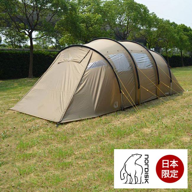 ノルディスク レイサ6 ジャパン ベージュ NORDISK Reisa6 Japan Beige テント キャンプ 6人用 日本限定カラー レイサ6ベージュ
