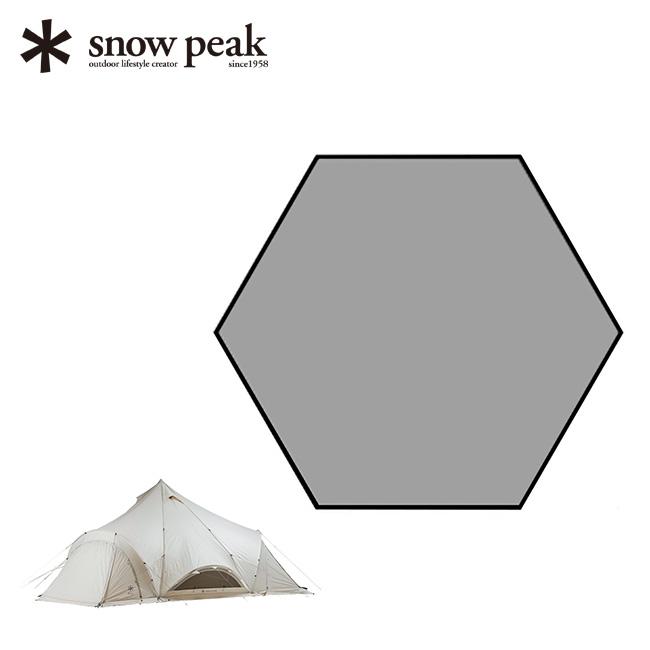 スノーピーク スピアヘッド Pro.L インナーマット snow peak テント インナーマット マット <2018 春夏>