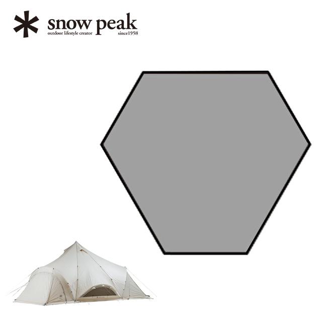 スノーピーク スピアヘッド Pro.M インナーマット テント インナー マット <2018 春夏>