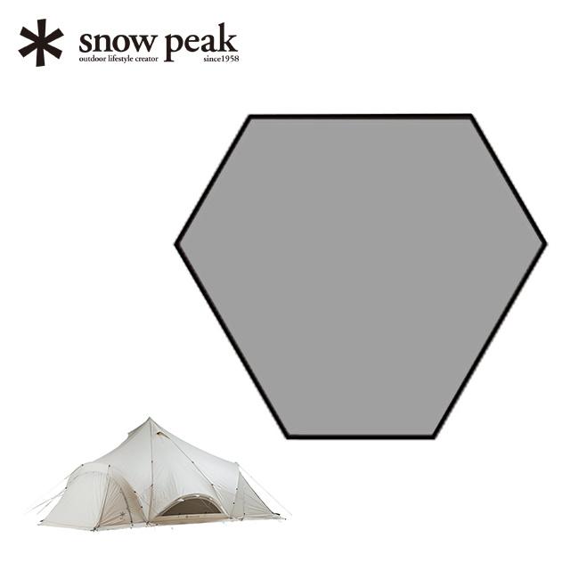 スノーピーク スピアヘッド Pro.M リビングシート snow peak テント インナーマット マット リビング <2018 春夏>