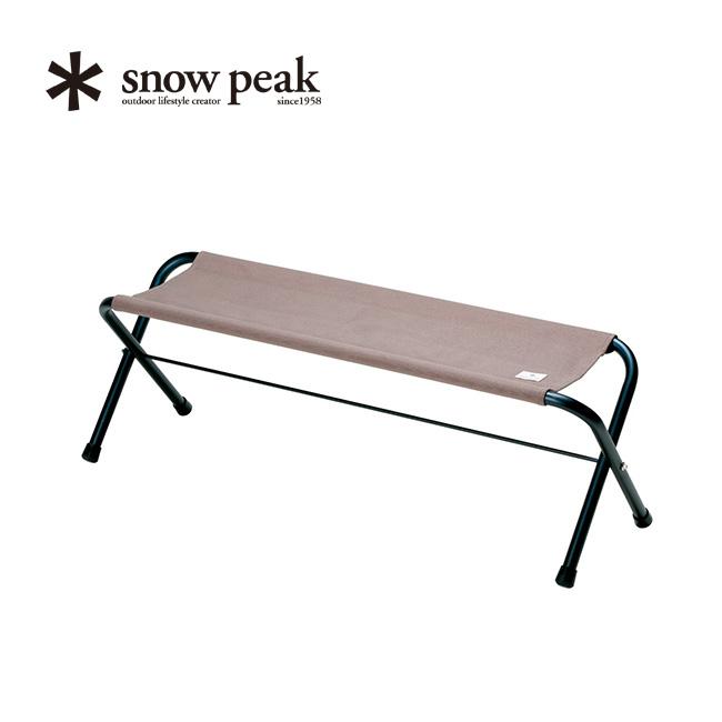 スノーピーク FDベンチ グレー snow peak FD Bench Gray 家具 ベンチ イス アウトドア LV-071GY <2019 春夏>