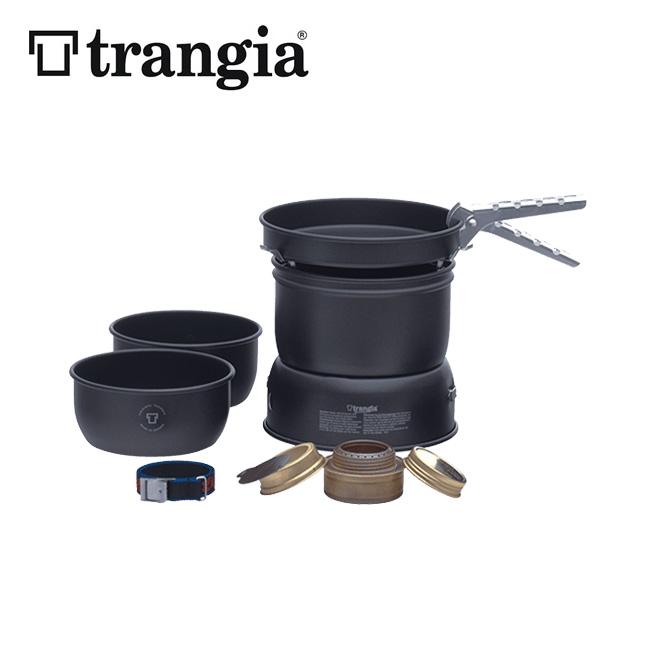 トランギア ストームクッカーS・ブラックバージョン trangia STORM COOKER S BLACK フライパン ソースパン ケトル アルコールバーナー アルミ製 TR-37-5UL<2019 春夏>