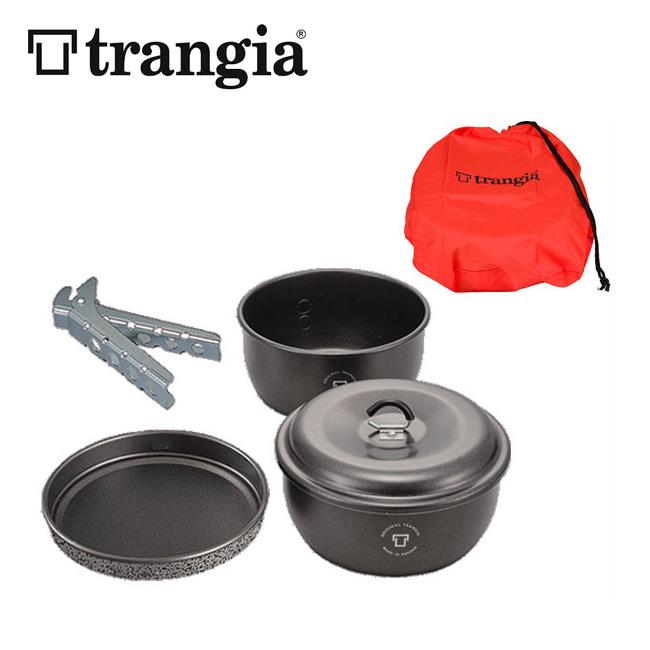 トランギア ツンドラ3 【ミニ】 ブラックバージョン trangia TUNDRA3 mini Black Version【TR-TUNDRA3MN-BK】 鍋 フライパン <2018 春夏>