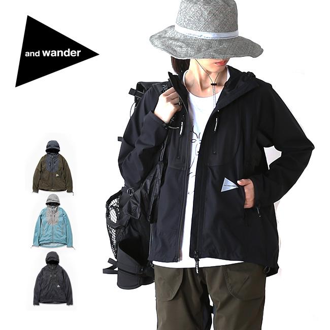アンドワンダー トレックジャケット and wander trek jacket メンズ レディース ウィメンズ トレック ジャケット トップス ソフトシェル 上着 長袖 <2018 春夏>