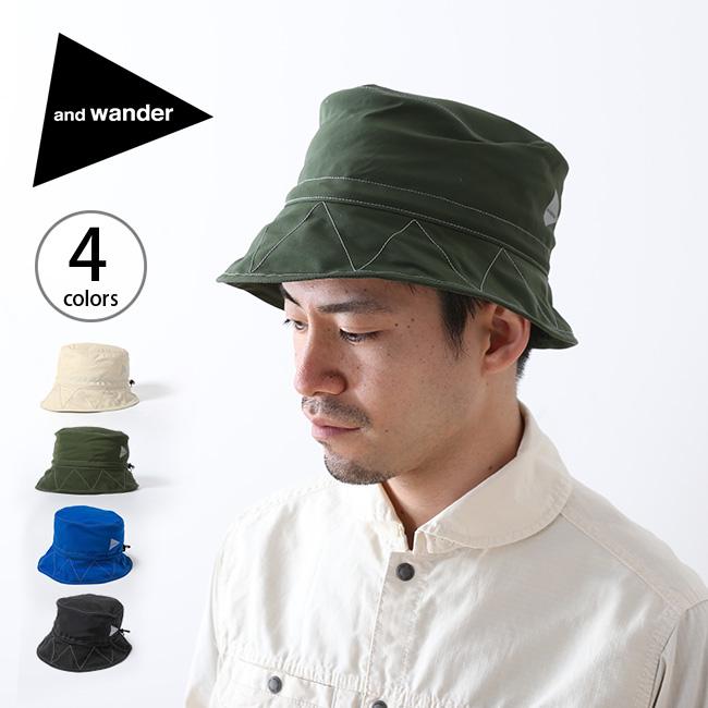 アンドワンダー 60/40 クロスハット and wander 60/40 cloth hat メンズ レディース ユニセックス 帽子 ハット <2018 春夏>