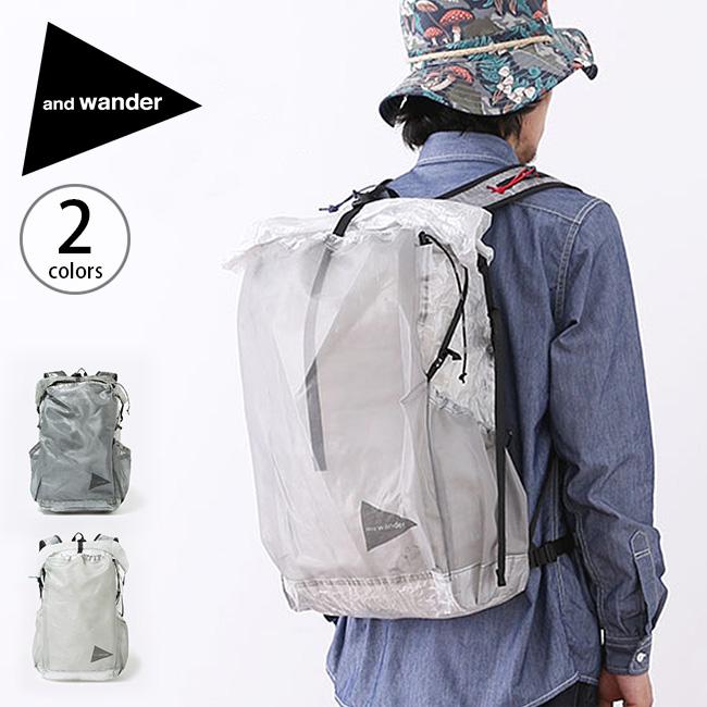 アンドワンダー キューベンファイバーバックパック and wander cuben fiber backpack 鞄 バックパック ザック リュックサック リュック ロールトップ <2018 秋冬>