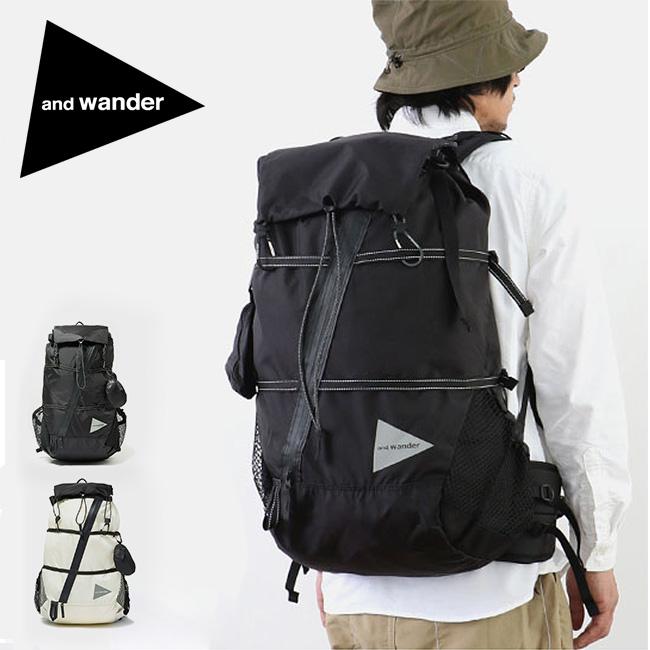 アンドワンダー 40L バックパック and wander 40L backpack AW-AA911 ザック リュックサック <2019 秋冬>