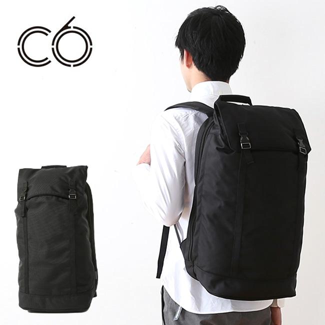 シーシックス ジェネシスバックパックデュラブルナイロン C6 Genesis Backpack Black バックパック リュック ザック ナイロン ブラック <2018 春夏>