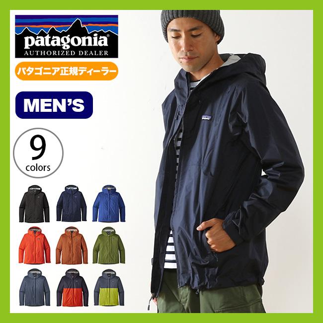 パタゴニア メンズ トレントシェルジャケット patagonia M's Torrentshell Jacket トレントシェル ジャケット ハードシェル マウンテンパーカ レインジャケット <2018 春夏>