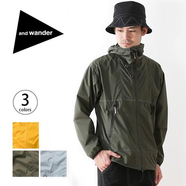 アンドワンダー パーテックスウィンドジャケット and wander PERTEX wind jacket メンズ ウィメンズ ジャケット アウター ウィンドシェル <2018 春夏>