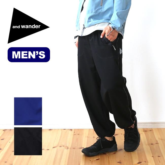 アンドワンダー ベントパンツ and wander vent pants メンズ ロングパンツ パンツ ボトムス トレッキングパンツ <2018 春夏>