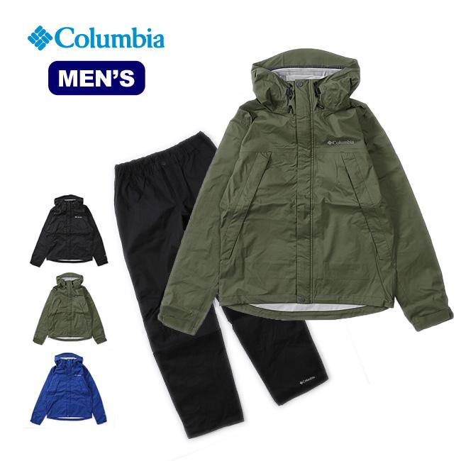コロンビア ピクシーサンクチュアリレインスーツ Columbia Pixie Sanctuary Rainsuit メンズ トップス 長袖 ジャケット 上着 アウター レインスーツ <2018 春夏>