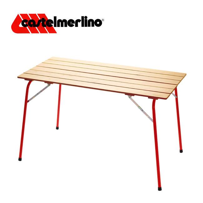 カステルメルリーノ キャンピングテーブル 100×60 CASTELMERLINO テーブル アウトドア キャンプ バーベキュー 折りたたみ 家具 <2018 春夏>
