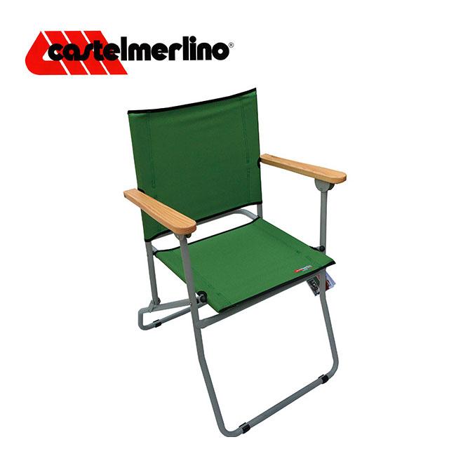 カステルメルリーノ ローマフォールディングチェア CASTELMERLINO Roma folding chair イス チェア 椅子 ローバーチェア アウトドア キャンプ バーベキュー 折りたたみ <2018 春夏>