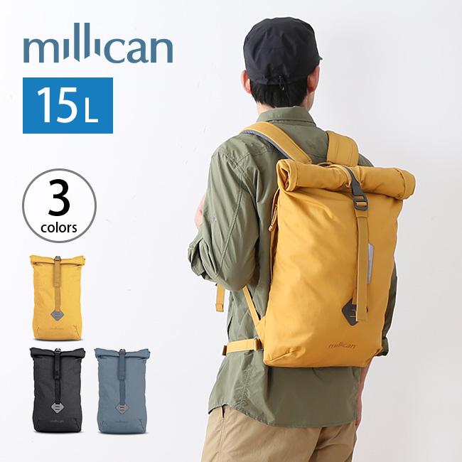 ミリカン スミス ザ・ロールパック 15L millican Smith The Rroll Pack 15L リュック リュックサック デイパック ロールトップ <2018 春夏>