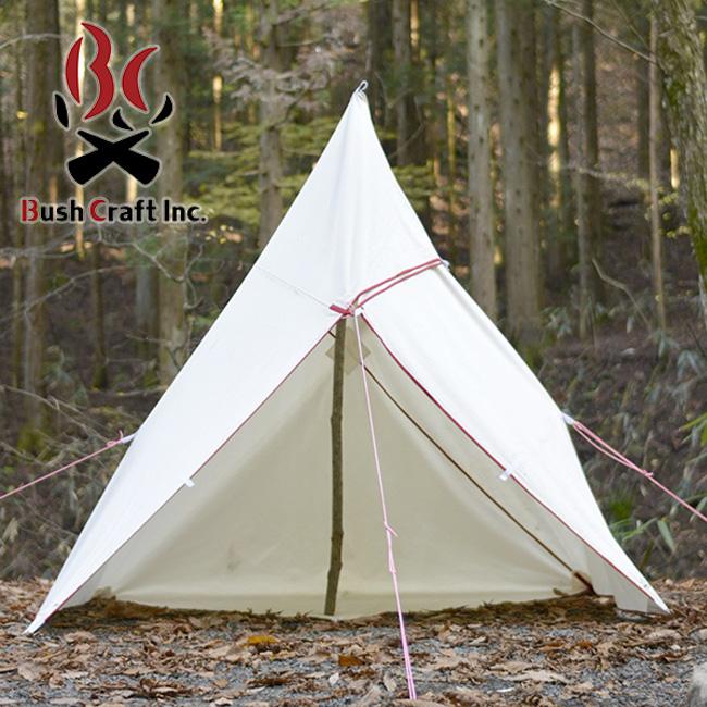 ブッシュクラフト たき火タープ 3×3 Bush Craft タープ テント アウトドア キャンプ バーベキュー <2018 春夏>