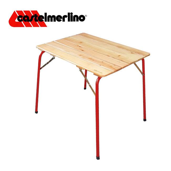 カステルメルリーノ キャンピングテーブル 80×60 CASTELMERLINO Camping table テーブル バーベキュー アウトドア 折りたたみ <2018 春夏>