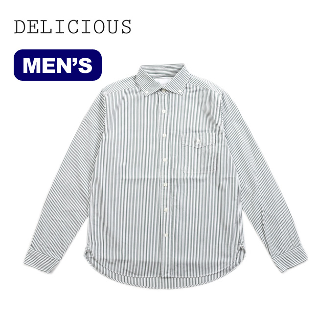 デリシャス プジョル スタンダード DELICIOUS Pujol Standard メンズ シャツ ロングスリーブシャツ 襟シャツ <2018 春夏>