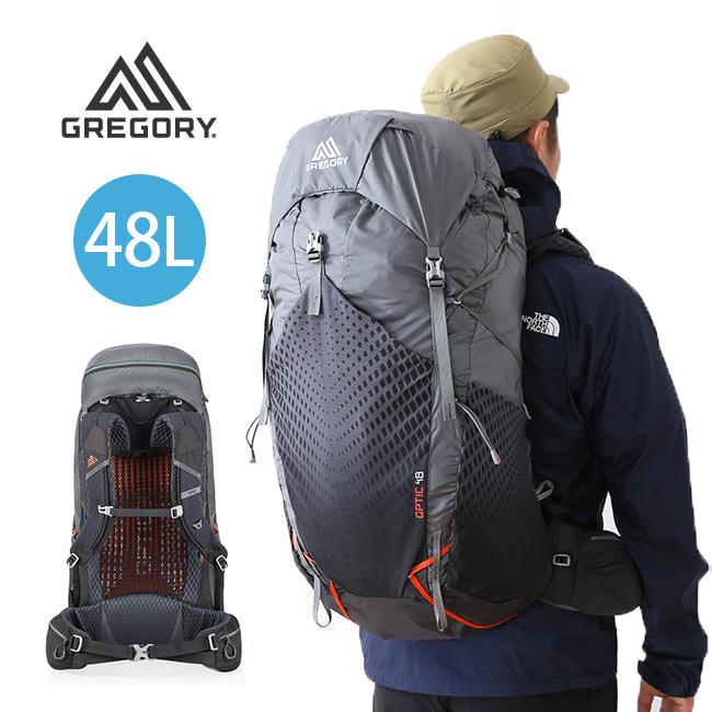 グレゴリー オプティック 48 GREGORY OPTIC 48 バックパック リュック ザック リュックサック 登山用 48L <2018 春夏>