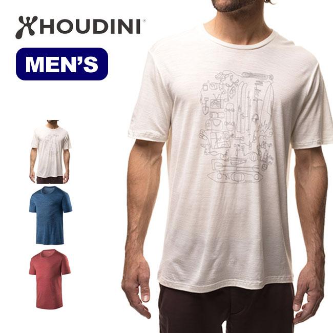 フーディニ メンズ アクティビストメッセージTee HOUDINI Activist Message Tee 男性 <2018 春夏>