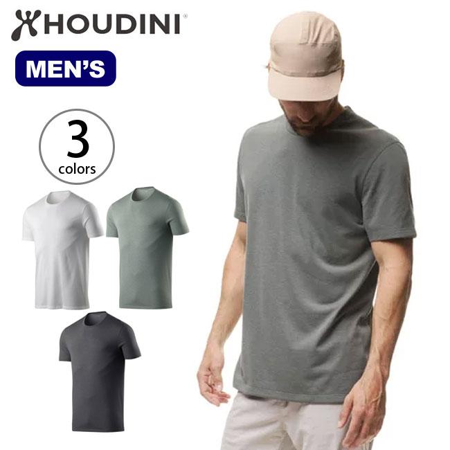 フーディニ メンズ ビッグアップTee HOUDINI Big Up Tee 男性 Tシャツ <2018 春夏>