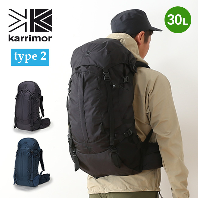 【キャッシュレス 5%還元対象】カリマー リッジ 30 タイプ2 リミテッドモデル karrimor ridge 30 type2 Limited Model メンズ リュックサック リュック ザック バックパック 限定モデル <2018 春夏>