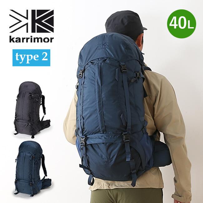 カリマー リッジ 40 タイプ2 リミテッドモデル karrimor ridge 40 type2 Limited Model メンズ リュックサック リュック ザック バックパック 限定 <2018 春夏>