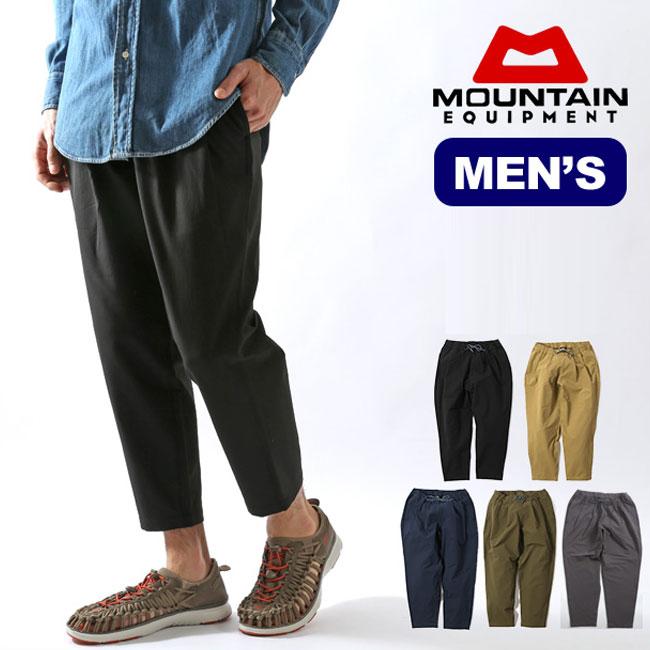 【キャッシュレス 5%還元対象】マウンテンイクイップメント イージーパンツ MOUNTAIN EQUIPMENT Easy pants ボトムス テーパード 9分丈 <2018 春夏>