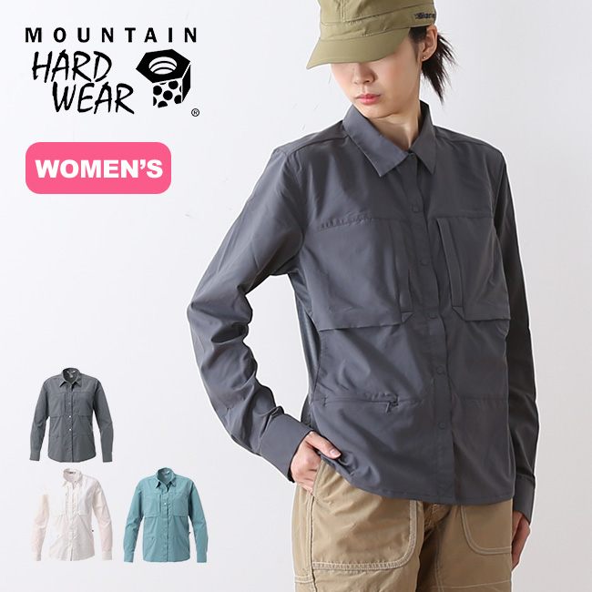 【保証書付】 マウンテンハードウェア <2018 キャニオンプロロングスリーブシャツ Mountain Hardwear Hardwear レディース シャツ ロングスリーブ 襟シャツ 襟シャツ <2018 春夏>, フナオチョウ:1ca4fce2 --- themarqueeindrumlish.ie