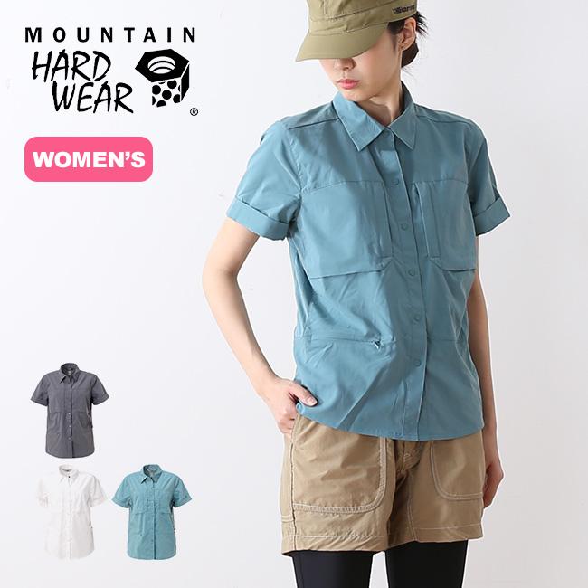 マウンテンハードウェア キャニオンプロショートスリーブシャツ Mountain Hardwear ウィメンズ シャツ ショートスリーブ 半袖 襟シャツ <2018 春夏>