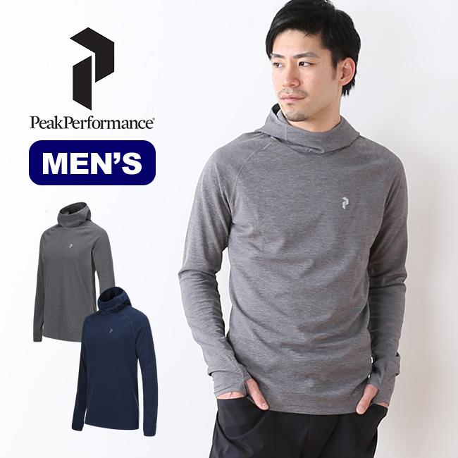 ピークパフォーマンス パワーフード メンズ PeakPerformance Power Hood トップス パーカー 長袖 男性 <2018 春夏>