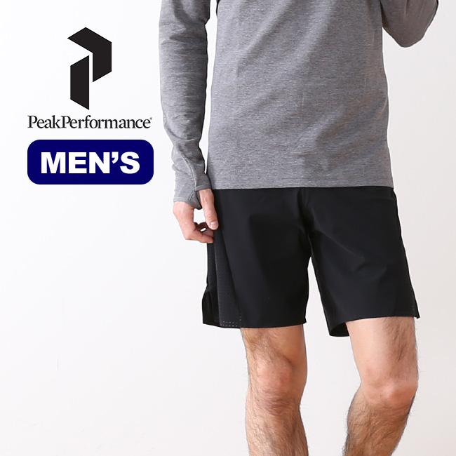 ピークパフォーマンス ゴーショーツ PeakPerformance MEN'S GO SHORTS メンズ パンツ ショートパンツ ランニング スポーツ アウトドア キャンプ G63887005 <2018 春夏>