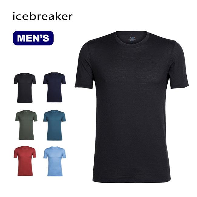 アイスブレーカー MテックライトSSクルー Icebreaker M Tech Lite SS Crew メンズ ベースレイヤー ショートスリーブ 半袖 Tシャツ 男性<2018 春夏>