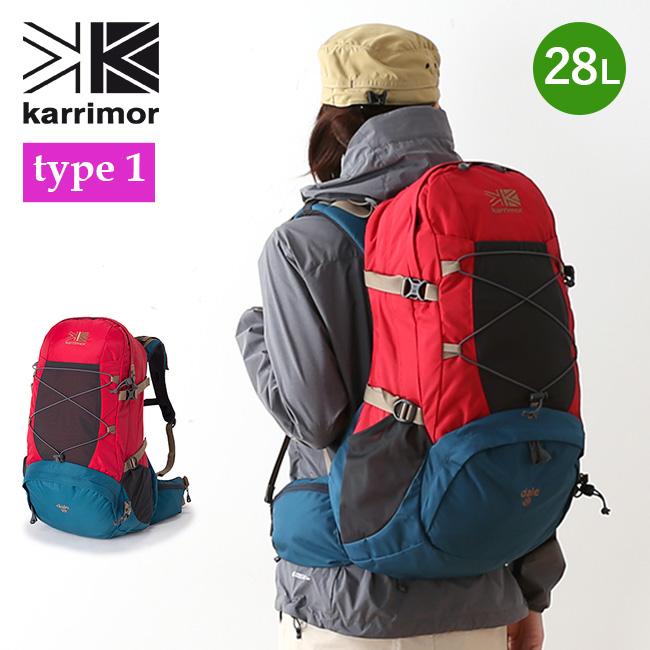 カリマー デール 28 タイプ1 リミテッドモデル karrimor dale 28 type1 レディース リュックサック リュック ザック バックパック デイパック ザック 限定モデル <2018 春夏>