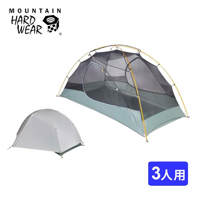 マウンテンハードウェア ゴーストスカイ3テント Mountain Hardwear テント 軽量 3人用 DACフェザーライトNSL フリースタンディング アウトドア 登山 キャンプ Ghost Sky 3 Tent