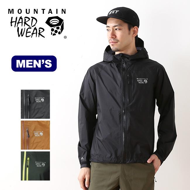 マウンテンハードウェア リロイジャケット Mountain Hardwear Leroy Jacket メンズ ジャケット レインウェア シェルジャケット <2018 秋冬>