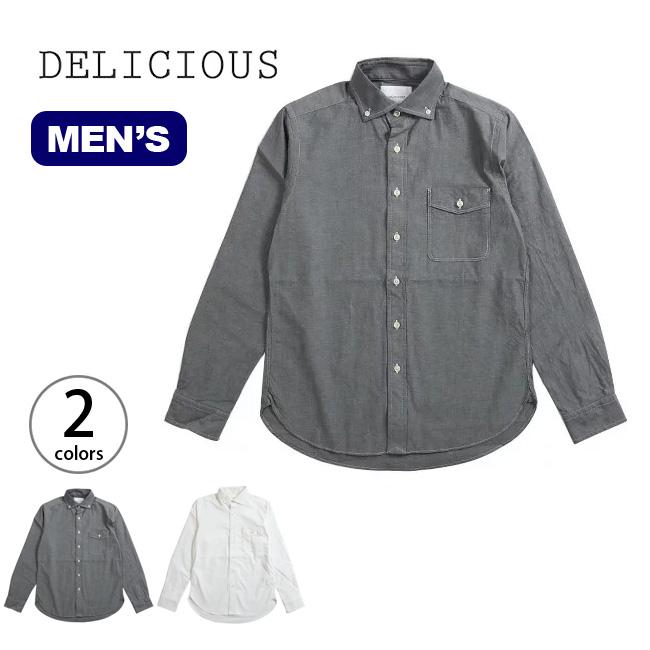 デリシャス プジョル ストレッチ DELICIOUS Pujol Stretch メンズ シャツ ロングスリーブシャツ 襟シャツ <2018 春夏>