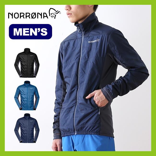 ノローナ フォルケティン アルファ60ジャケット メンズ Norrona falketind Alpha60 Jacket ジャケット アウター インサレーションジャケット <2018 春夏>