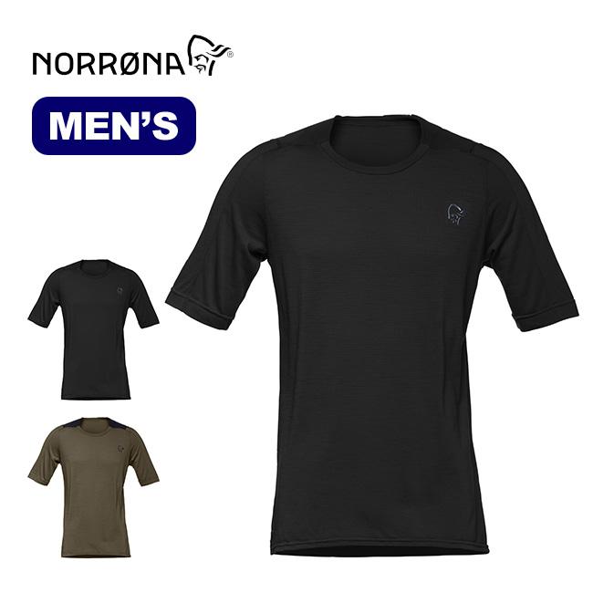 ノローナ シーボットン ウールイコライザーTシャツ メンズ Norrona skibotn wool equaliser T-shirt 半袖 ベースレイヤー Tシャツ メリノウール マウンテンバイク用 <2018 春夏>