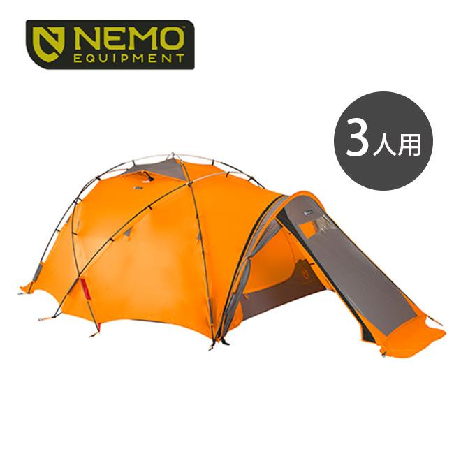 ニーモ チョゴリ 3P NEMO CHOGORI 3P テント 山岳用テント オールシーズン対応 NM-CGR-3P <2018 春夏>